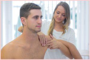 Massagetechnik Schulter